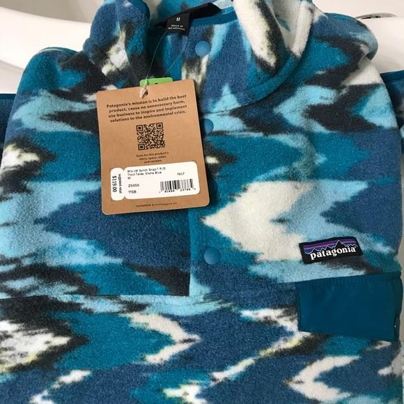 edb94d5c5c0a8 Patagonia Tops | Synchilla Snapt Fleece Pullover Size M | Poshmark